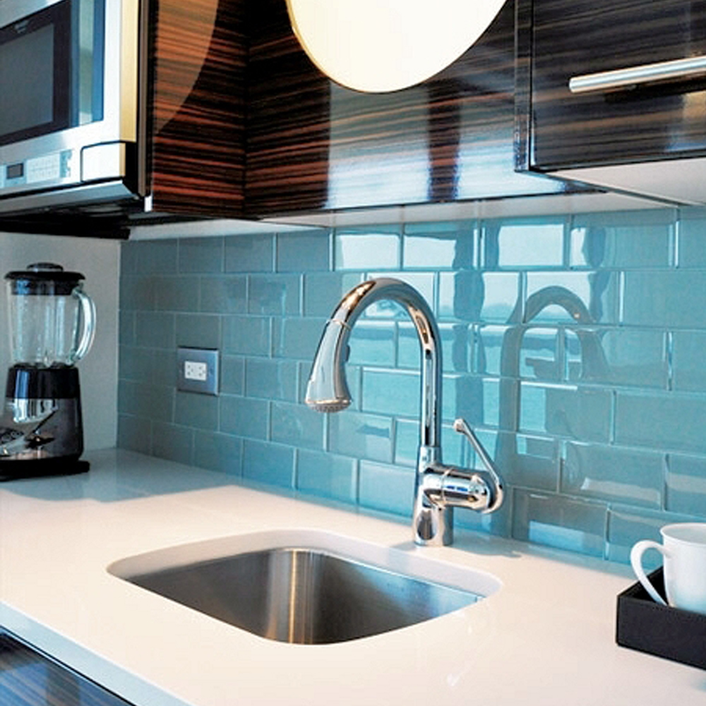 Kitchen Backsplash Pictures - Subway Tile Outlet