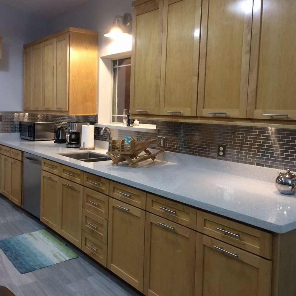 Stainless Steel 1x3 Kitchen Backsplash