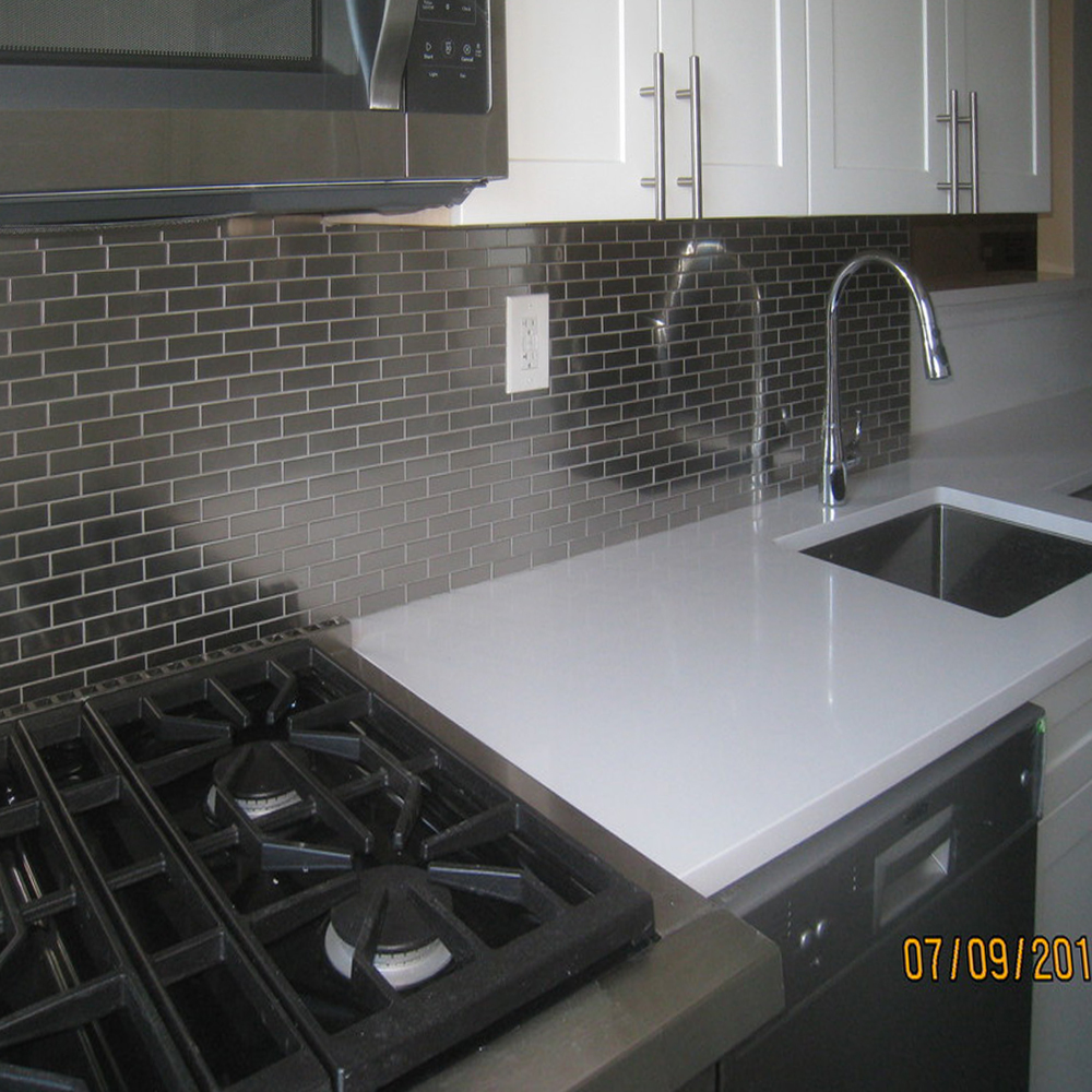 Stainless Steel 1x3 Kitchen Renovation