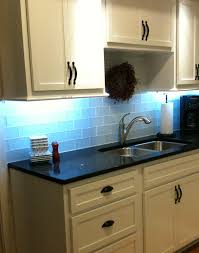 Frosted Sky Kitchen Backsplash