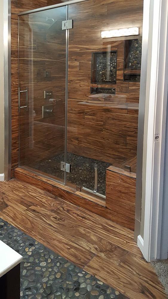 Glazed Bali Ocean Bathroom & Shower Floor