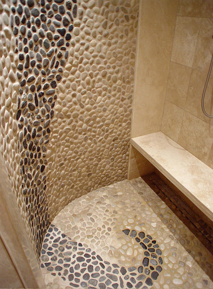 unique-black-and-white-pebble-shower