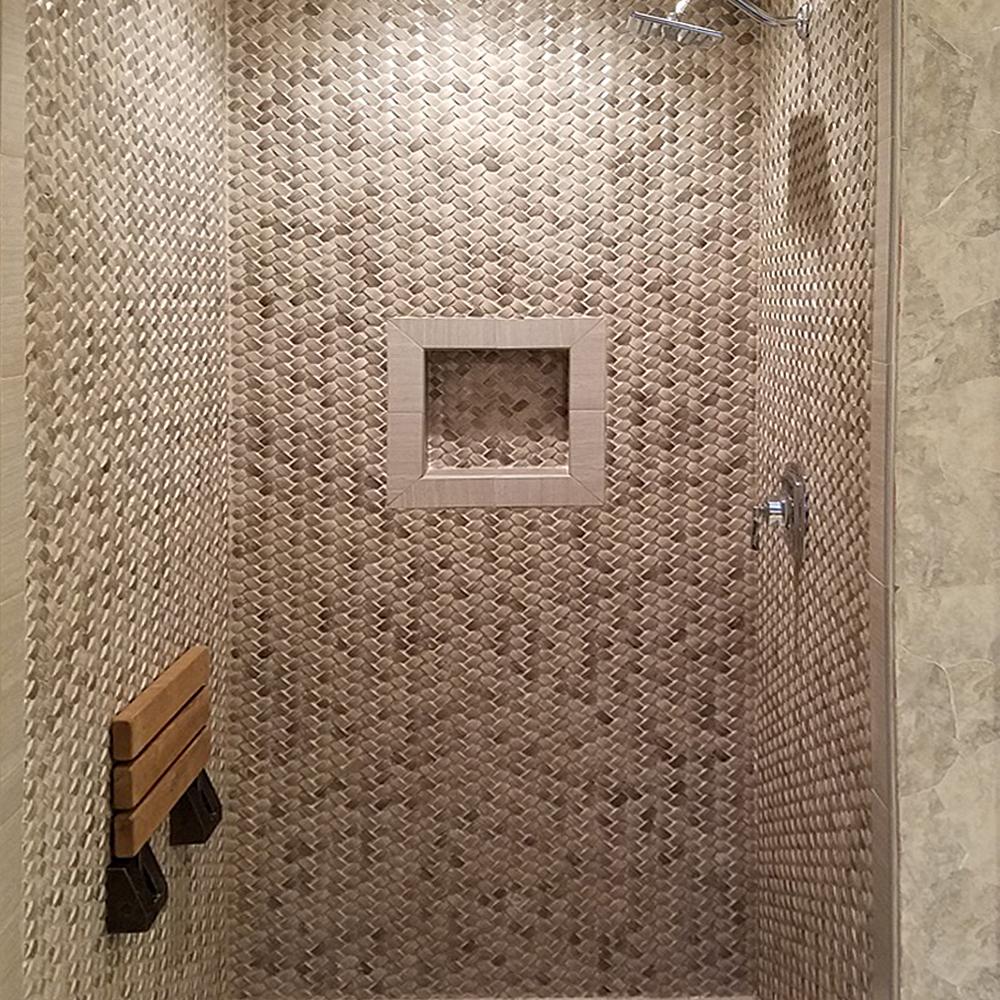 3d-polished-grey-basket-weave-stone-tile-shower-walls