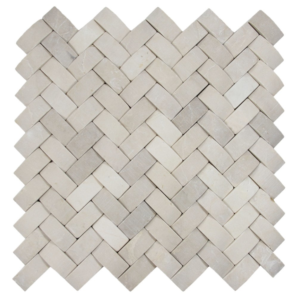 3d Tan Basket Weave Stone Tile