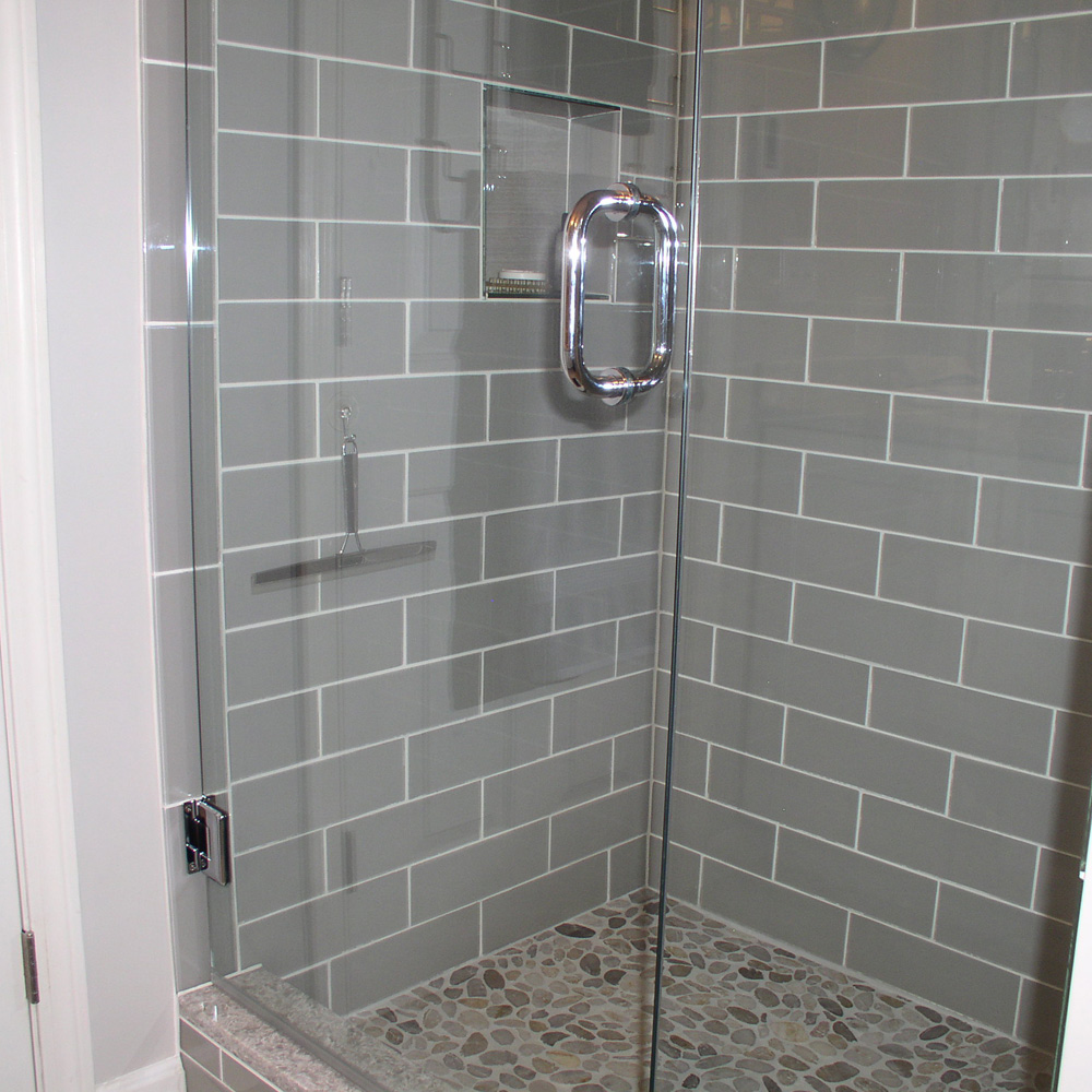 Smoke Gl 4 X 12 Subway Tile
