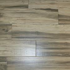 Black Ash Wood Look Porcelain Tile
