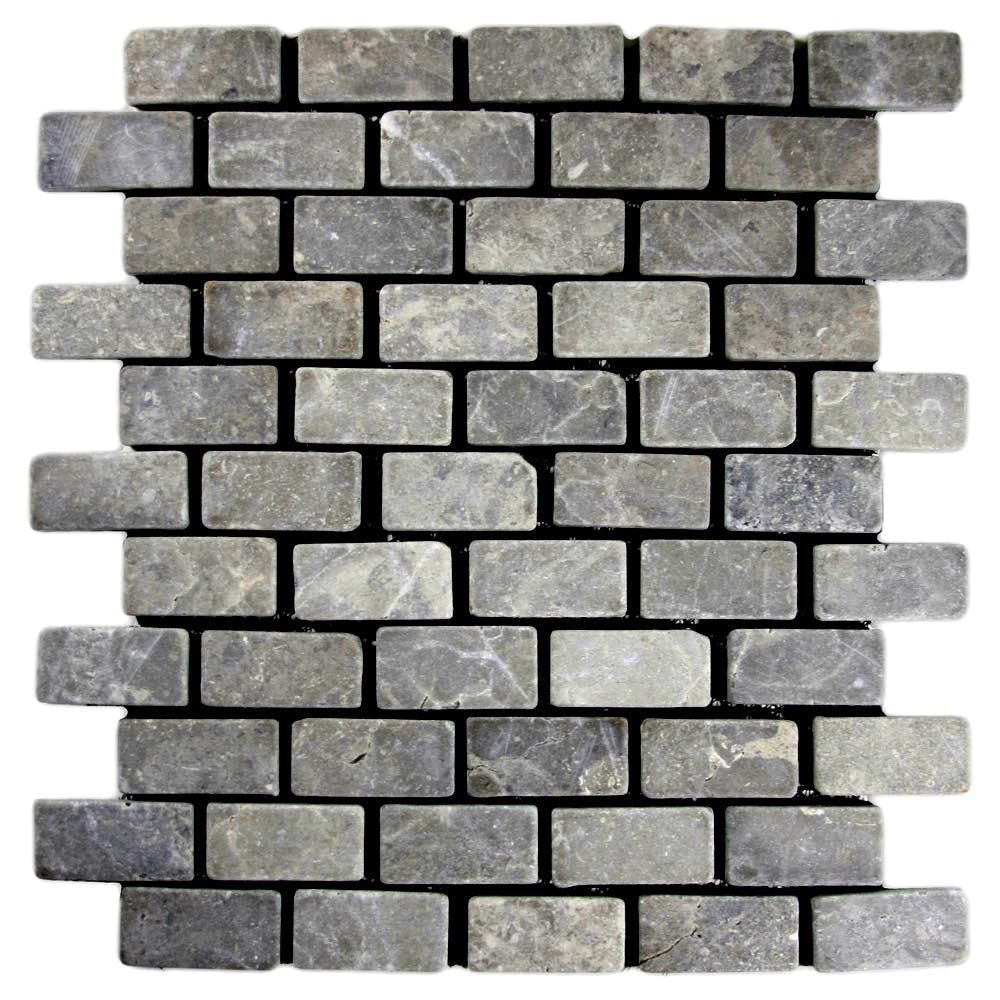 Light Grey Mini Stone Subway Tile