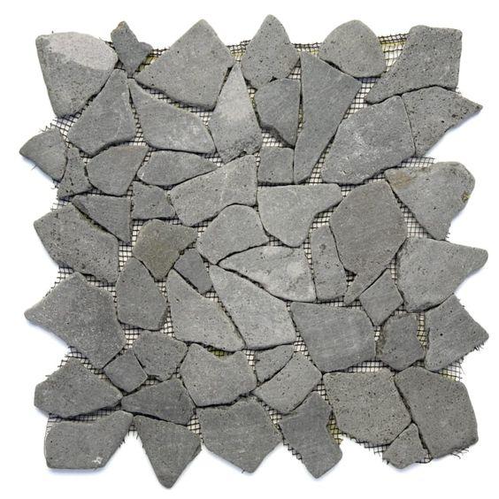 Stone Grey Mosaic Tile Sample Tiles