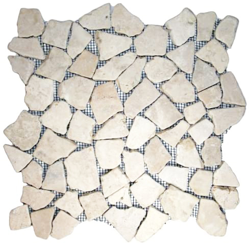 Ecru White Mosaic Tile