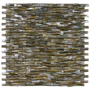 3D Brick Pearl Shell Tile