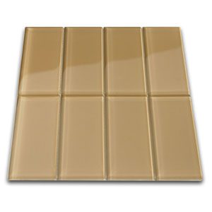 Champagne Glass Subway Tile