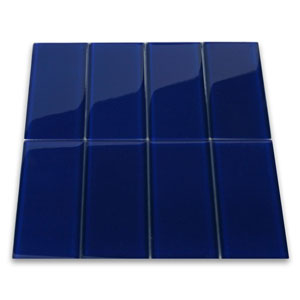 Cobalt Glass Subway Tile