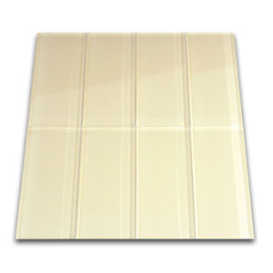 Cream Glass Subway Tile