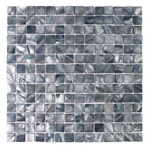 Dolphin Gray Pearl Shell Tile