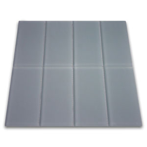 Frosted Ocean Glass Subway Tile