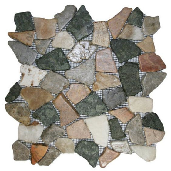 Glazed Autumn Mosaic Tile