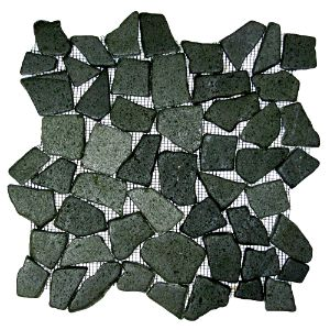 Glazed Black Mosaic Tile