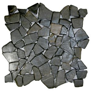 Glazed Grey Mosaic Tile