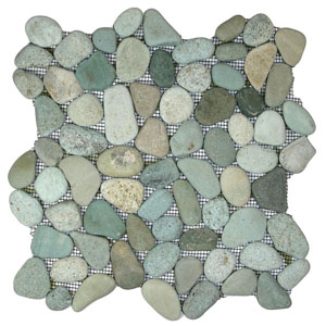Sea Green Pebble Tile