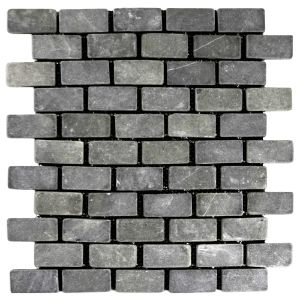 Grey Mini Stone Subway Tile