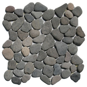 Island Grey Pebble TIle
