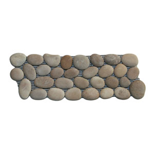 Java Tan Pebble Tile Border