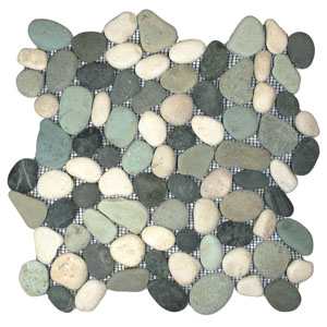 Bali Turtle Pebble Tile