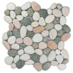 Mixed Island Pebble Tile