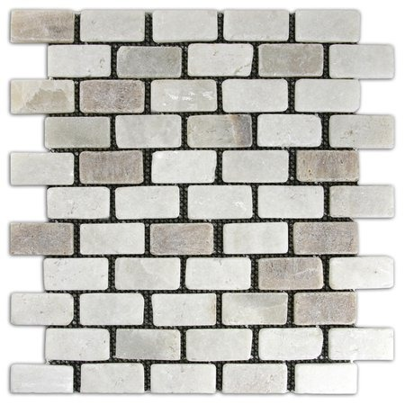 Mixed Quartz Mini Stone Subway Tile