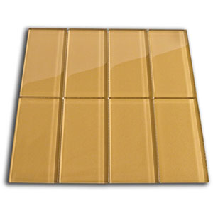 Sahara Glass Subway Tile