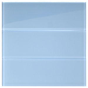 "Sky Glass 4"" x 12"" Subway Tile"