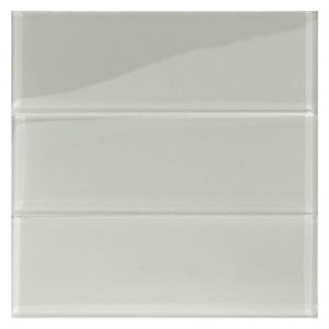 "Smoke Glass 4"" x 12"" Subway Tile"