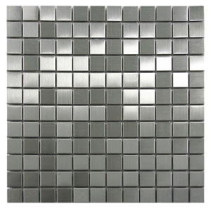 Stainless Steel Mosaic Tile 1x1