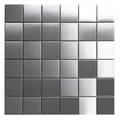 Stainless Steel Mosaic Tile 2x2