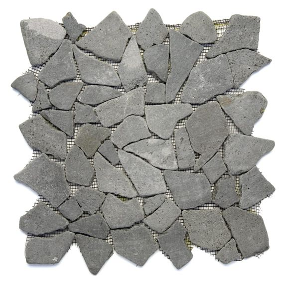 Stone Grey Mosaic Tile