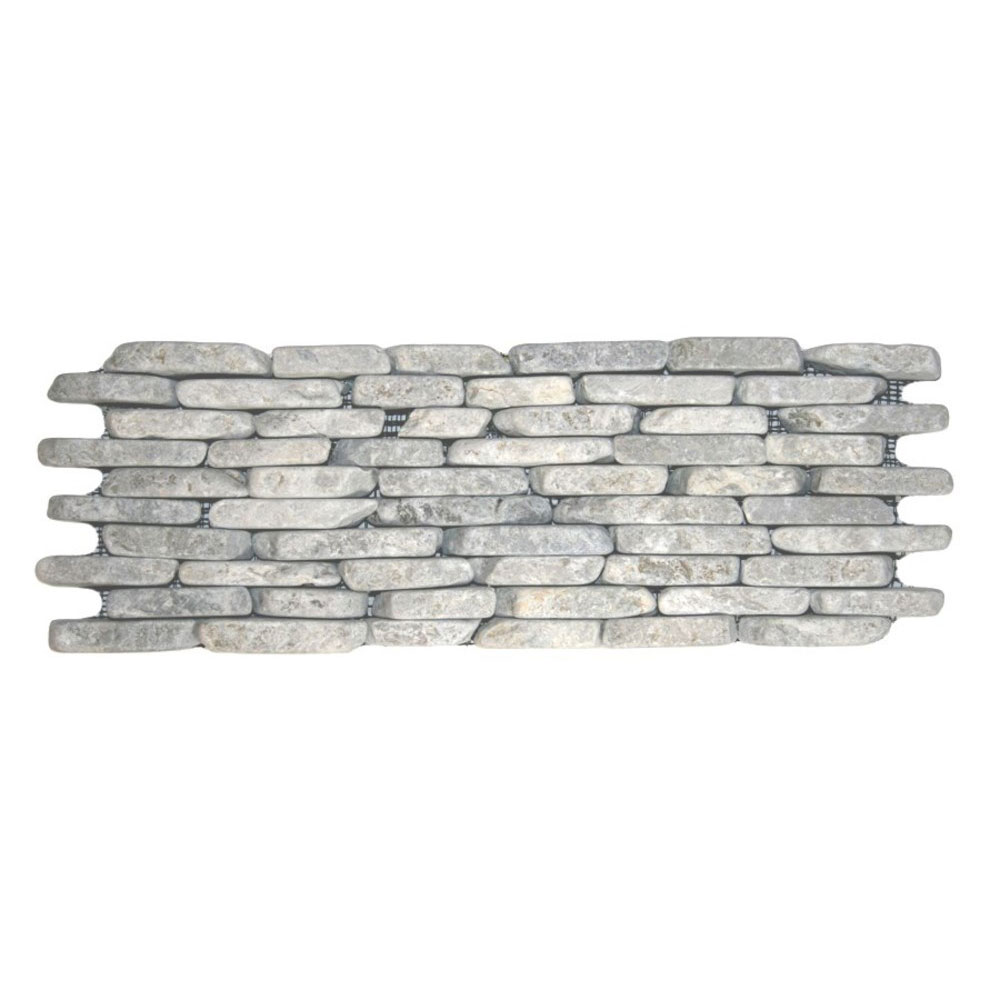 Stone Grey Standing Mosaic Tile