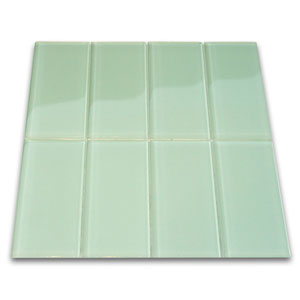 Surf Glass Subway Tile