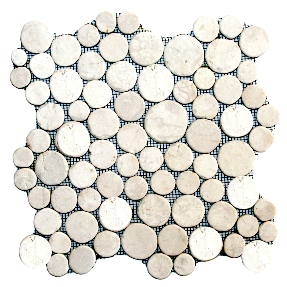 White Moon Mosaic Tile